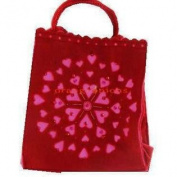Red Valentine's Day Tote