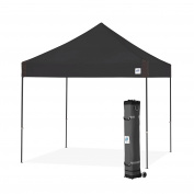 E-Z UP Vantage Instant Shelter Canopy, 3m by 3m, Black-VG3SG10BK
