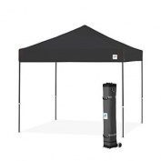 E-Z UP Pyramid Instant Shelter Canopy, 3m by 3m, Black-PR3SG10BK