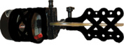 Extreme Archery Exr Sniper 1900 .019 Black Sight W/Sunshade & Light