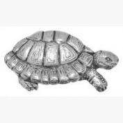 Pewter Tortoise Pin Badge or Brooch Gift for Scarf, Tie, Hat, Coat or Bag