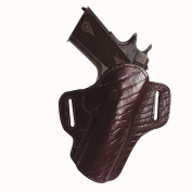 Premium Open Top Belt Holster Sig P220/P226, Burgundy