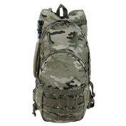 Voodoo Tactical Men's Msp-3 Expandable Hydration Pack with Universal Straps, Multicam