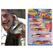 Mighty Bite Kit Lures As Seen On TV Fishing Fresh & Salt [Special Edition]