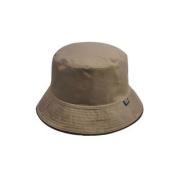 Solid Fishing Hat Foldable Bucket Hat for Men-Khaki