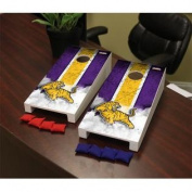 Louisiana State University Eunice LSUE Bengals Desktop Mini Cornhole Game Set