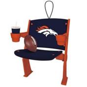 Denver Broncos Stadium Chair Ornament