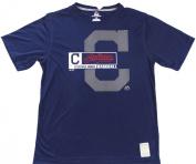 "Cleveland Indians Majestic CoolBase ""C"" Short Sleeve Tshirt Size L"