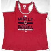 Cleveland Indians Majestic T Back Tank Top Ladies Size 2XL