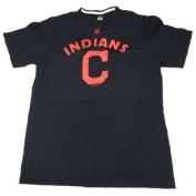 Cleveland Indians Majestic Short Sleeve TSHIRT Size L