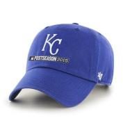 Kansas City Royals 47 Brand 2015 MLB Postseason Playoffs Relax Adjust Hat Cap