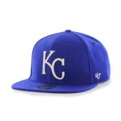 Kansas City Royals 47 Brand Royal Blue Wool Boxcar Adjustable Snapback Hat Cap