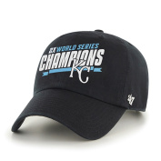 Kansas City Royals 2 Times World Series Champions Navy Clean Up Hat Cap