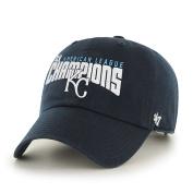 Kansas City Royals 4 Times American League Champions Clean Up Hat Cap