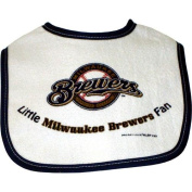 Milwaukee Brewers Little Brewers Fan Snap On Baby Bib