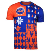 New York Mets KLEW Performance Busy Block T Shirt Size XL w/ Priority Shipping