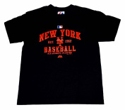 New York Mets Majestic Youth Authentic Collection Black Gameday T-Shirt
