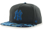 New York Yankees 47 Brand Charcoal Drytop Adjustable Strapback Hat Cap