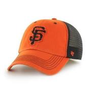 San Francisco Giants 47 Brand Orange Black Taylor Closer Mesh Flexfit Hat Cap