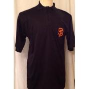 San Francisco Giants Majestic DRI Fit Birdseye Polo Shirt Size MT