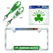 Boston Celtics Licence Plate Frame and Key Chain Gift Set