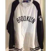 Brooklyn Nets Full Front Zippered Track Jacket 3XL