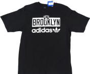 Brooklyn Nets Adidas Short Sleeve TSHIRT Size L
