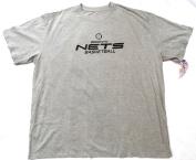 Brooklyn Nets Majestic Big and Tall Short Sleeve T Shirt Size 4XT