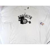 Brooklyn Nets Majestic NBA Collection Short Sleeve T Shirt Size 2XL