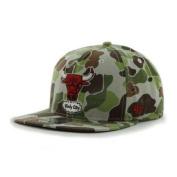 Chicago Bulls 47 Brand Camouflage Bufflehead Adjustable Snapback Hat Cap
