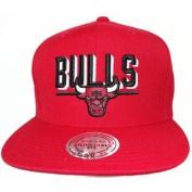 Chicago Bulls 2016 Mitchell & Ness Snapback Cap Hat Red