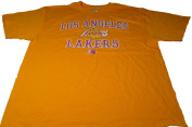 Los Angeles Lakers Majestic Hardwood Classics Short Sleeve Tshirt Size L