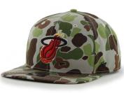 Miami Heat 47 Brand Camouflage Bufflehead Adjustable Snapback Hat Cap