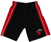 """Miami Heat Majestic """"D-Wade"""" Performance Panel Shorts Youth Size L"""