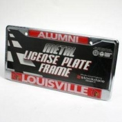 "Louisville Cardinals ""alumni"" Metal Licence Plate Frame - Chrome"