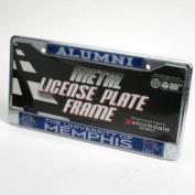 Memphis Tigers Alumni Licence Plate Frame - Chrome