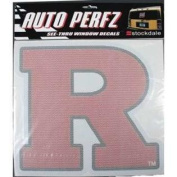 Rutgers Scarlet Knights Perforated Vinyl Window Decal