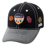 Oklahoma Sooners Clemson Tigers 2015 Orange Bowl Football Playoff Adj Hat Cap