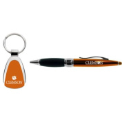 Clemson Tigers Pen And Keytag Gift Set