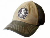 Florida State Seminoles TOW Brown Two Tone Incog Adj Snapback Mesh Hat Cap