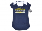Georgia Tech Yellow Jackets Blue 84 Women Navy Short Sleeve T-Shirt