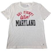 """Maryland Terrapins WOMEN HeatGear """"Go! Fight! Win!"""" SS T-Shirt"""