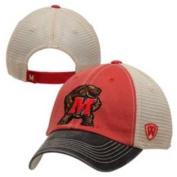 Maryland Terrapins Red Black Offroad Adj Snapback Hat Cap
