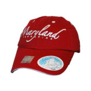 Maryland Terrapins Top of the World Women Red Cloud 9 Adjustable Hat Cap