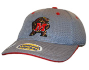 Maryland Terrapins Top of the World Youth Grey Performance Flex One Fit Hat Cap