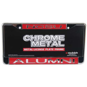 North Carolina State Wolfpack Metal Alumni Inlaid Acrylic Licence Plate Frame