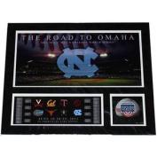 North Carolina Tar Heels The Road to Omaha 2011 College World Series Print 16X20