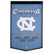 North Carolina Tar Heels Winning Streak Genuine Wool Dynasty Banner