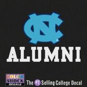 North Carolina Tar Heels Decal - Nc Logo Over Alumni