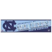 North Carolina Tar Heels Bumper Sticker